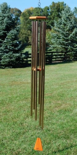 Picture of Bronze Arias Wind Chime 65 inches