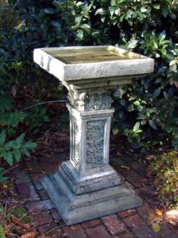 Picture of Rococo Stone Birdbath