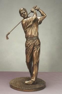 Picture of Male Golfer Figurine