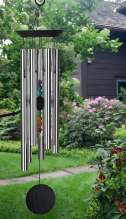 Picture of Chakra Seven Stones Wind Chime LARGE