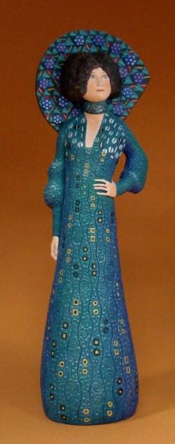 Picture of Emilie Floge Lady Figurine Klimt
