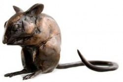 Picture of Long Tailed Bronze Mouse (Paul Jenkins Foundry Bronze Sculpture)