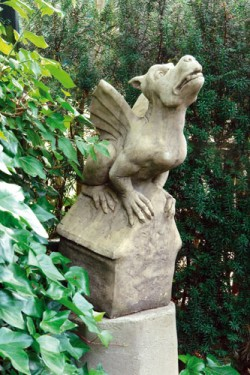 Picture of Gothic Gargoyle Stone Ornament