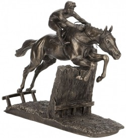 Picture of At Full Stretch Horse Racing Figurine (David Geenty)
