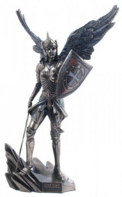 Picture of Archangel Raguel Bronze Figurine