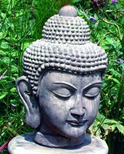 Picture of Buddha Head Stone Ornament