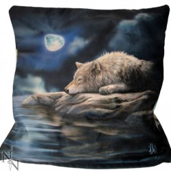 Picture of Quiet Reflection Wolf Cushion (Lisa Parker)