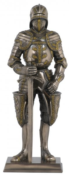Picture of Knight Bronze Figurine 11 inches