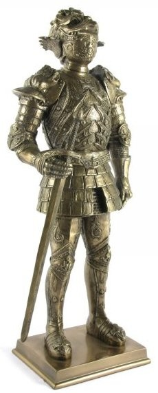 Picture of Knight Lord Bronze Figurine 12 inches