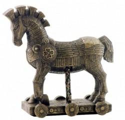 Picture of The Trojan Horse Bronze Figurine