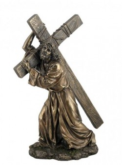 Picture of Jesus Carrying Cross Figurine 30 cm