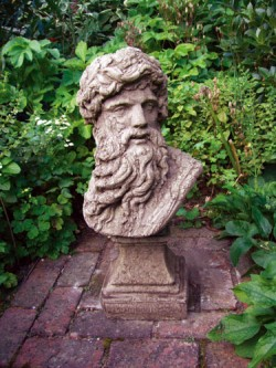 Picture of Hercules Head Stone Sculpture