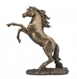 Picture of Rearing Horse Bronze Figurine 32 cm