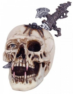 Picture of Vampire Skull with Removable Dagger New Release 24 cm