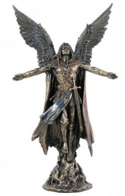 Picture of Archangel Uriel Bronze Figurine 28 cm