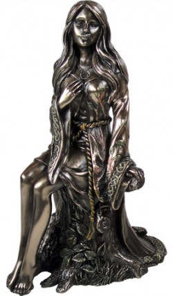 Picture of The Maiden Bronze Figurine Luna Lakota