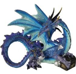 Picture of Piasa Blue Dragon Figurine (Alator)