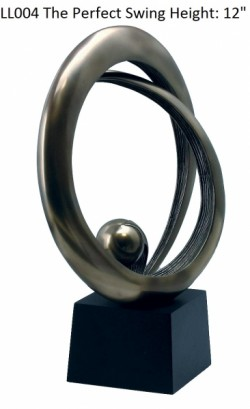 Picture of The Perfect Swing Bronze Sculpture