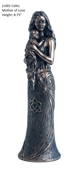 Picture of Celtic Mother of Love Bronze Sculpture
