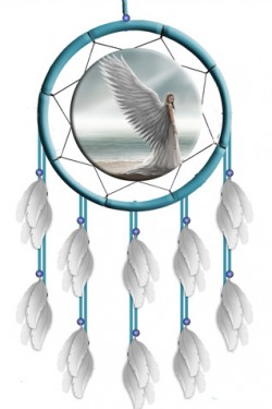 Picture of Spirit Guide Dream Catcher (Anne Stokes)