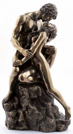 Picture of True Love The Kiss Bronze Nude Figurine