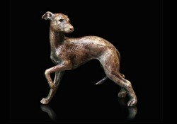 Picture of Whippet Bronze Miniature (Butler and Peach)