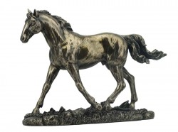 Picture of Trotting Horse Bronze Figurine 20 cm