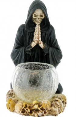Picture of Reapers Prayer Candle Holder 20 cm