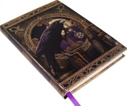 Picture of Embossed Wizards Raven Journal
