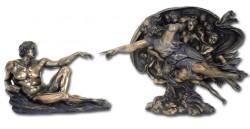 Picture of Creation of Adam Figurine Michelangelo
