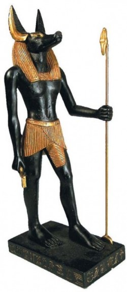 Picture of Egyptian Anubis Figurine