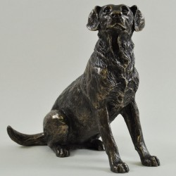 Picture of Labrador Bronze Dog Ornament Harriet Glen