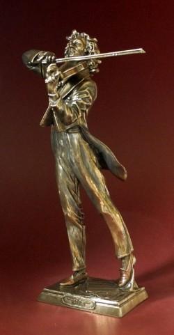 Picture of Paganini Bronze Figurine