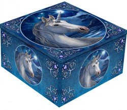 Picture of Sacred One Unicorn Mirror Box Lisa Parker