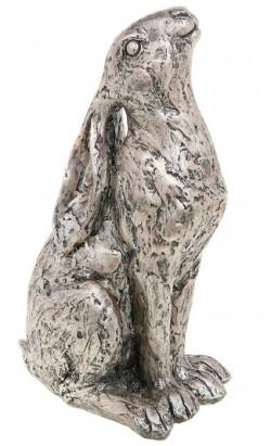 Picture of Champagne Bronze Moongazer Hare Sculpture 23 cm