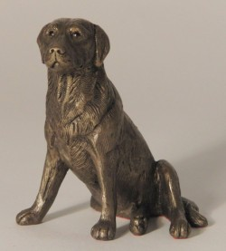 Picture of Nigel Labrador Bronze Sculpture (Frith)