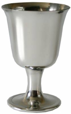 Picture of Pewter Bell Goblet (Small)