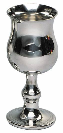 Picture of Georgian Pewter Goblet (Small)