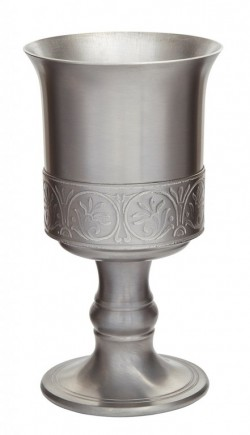 Picture of Medieval Pewter Goblet 15 cm