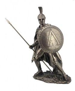 Picture of Leonidas King of Sparta Bronze Figurine 33 cm