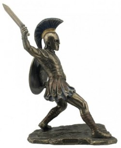 Picture of Hector Bronze Figurine 30 cm