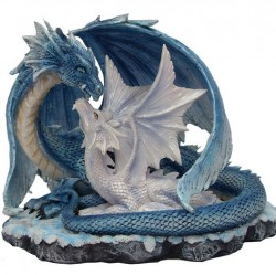 Picture of Wisdom Dragon with Youngling Figurine