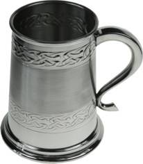 Picture of Embossed Celtic Tankard