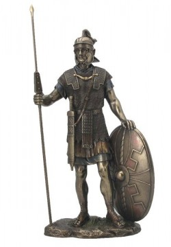 Picture of Roman Soldier Bronze Figurine 35 cm