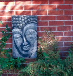 Picture of Buddha Stone Plaque Large