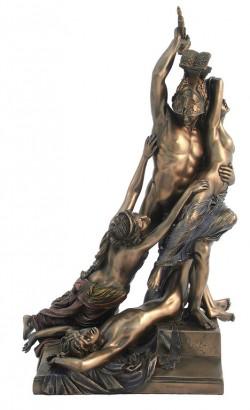 Picture of The Rape of Polyxena Bronze Statue 37 cm Pio Fedi