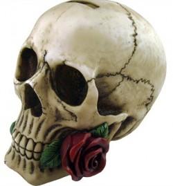 Picture of Romantic Skull Ornament Money Box
