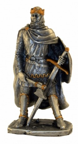 Picture of Robert the Bruce Pewter Figurine