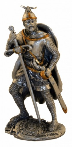 Picture of William Wallace Pewter Figurine