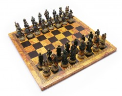 Picture of Undead Chess Set